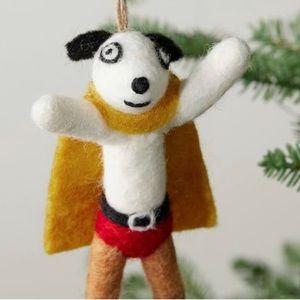 ❤️POTTERY BARN❤️St.Jude Superhero Dog Ornament